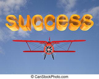 Business Air vol 4 - 3d Businessman in a biplane