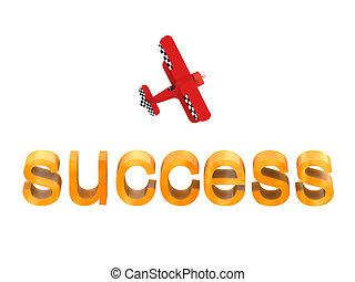 Business Air vol 3 - 3d Businessman in a biplane