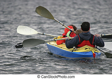 Activities 3 - family canoeing