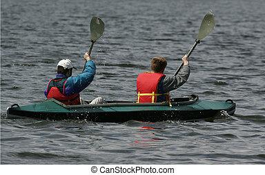Activities 5 - canoeing people