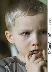 angry boy - crying boy