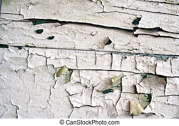 Peeling paint - Artistic peeling paint cracks pattern