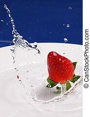 Strawberry Splash - Single strawberry
