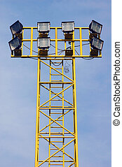 Floodlight tower