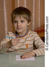 schoolboy - pupil