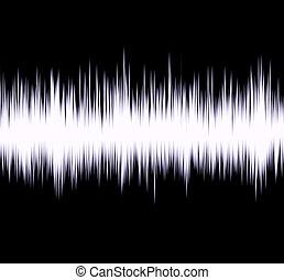 Radio wave - Abstract radio wave
