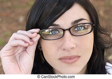 Woman - Glasses woman