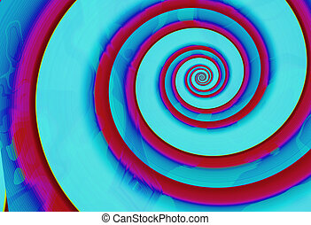 spirals 2 - spirals abstract background 2