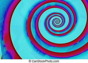spirals 2 - spirals abstract background 2