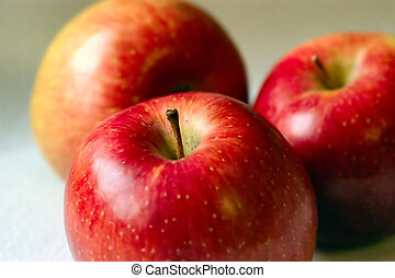 fresh fruit - Empire apples with natural light
