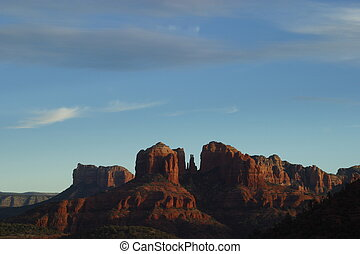 Cathedral Rock - Sunset on Cathedral Rock from Sedona