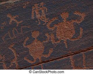V-V, Petroglyphs