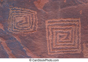 V-V Petroglyphs - Native American Rock Art of the Coconino...