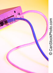 flying switch - fliegender Switch - two different coloured...
