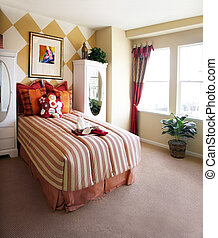 Girls bedroom - The pictures on the wall is my own image
