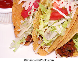 Tacos Mexic sandwich - Tacos a very spice Mexican sandwich