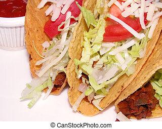 Tacos, Mexic, emparedado
