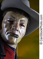 cowboy mannequin - cowboy