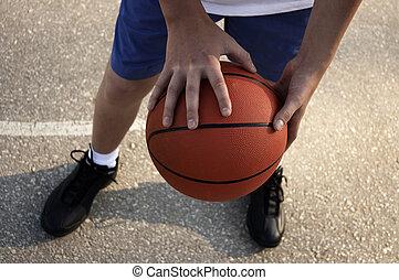 street basketball player