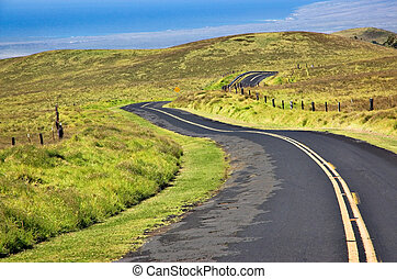Big Island Saddleback Road - Saddleback Road on The Big...