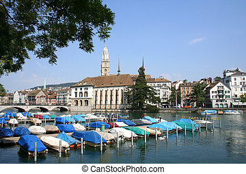 Zurich - Digital photo of zurich switzerland.