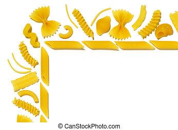 Texture of pasta - 1 - Texture of pasta - corner