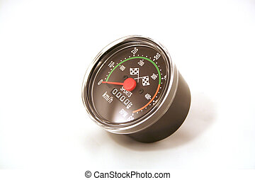 Speedometer KMH - A speedometer in KMH or kilometers per...