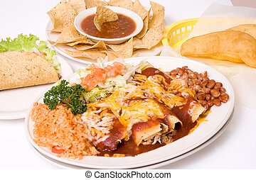 mexican meal - southwestern traditional food