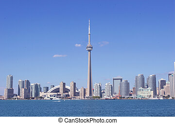 Toronto - Citiscape from lake Ontario