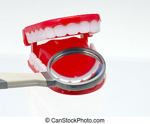 Dentistry - Chattering Teeth and a Dental Mirror