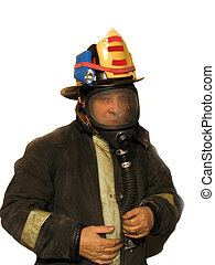Firefighter mask 1 - ,Part of the firefighter series,over...