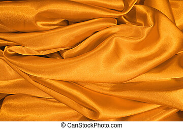 Gold satin - Cloth of gold for a background