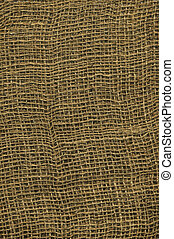 burlap canvas BIG - Full screen high resolution shot of...