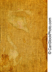 Old burlap canvas - Full screen high resolution shot of...