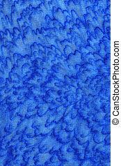 blue textile texture - Full screen high resolution shot of...