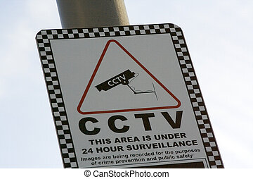 Closed Circuit Television Sign - CCTV Warning Sign
