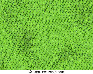 Reptile texture series - green snake