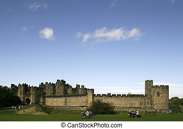 Alnwick, zamek