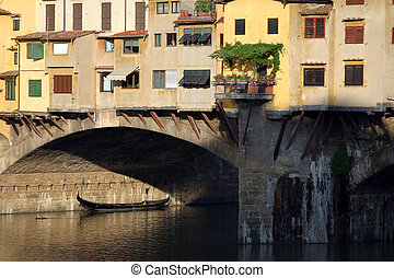 Ponte Vecchio III - The Ponte Vecchio in Florence, Italy