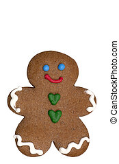 Cookie - Gingerbread Man - Gingerbread Man cookie (cookie...
