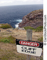 Danger, Cliff Edge
