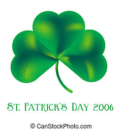 St. Patricks Day Sha - Illustrated shamrock for the up...