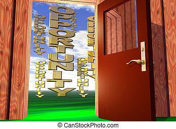 Opportunity comes knocking - Opening the door to a golden...