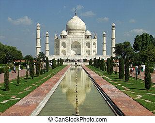 Taj Mahal - Front view
