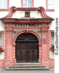 Otterberg Town Hall - The old Stadthaus or Town Hall at...