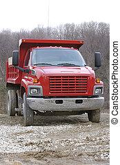 Dump Truck - Red Dump Truck