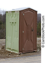 Portable Toilet Close Up