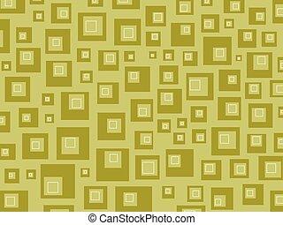 Retro squares browns