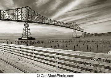 Astoria-Megler Bridge - Photo of the Astoria-Megler Bridge...