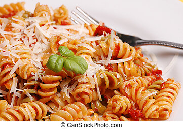 Macro pasta - italian dinner